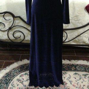 KC Spencer New York Dresses - 2/$50 Stunning sapphire blue floor length dress